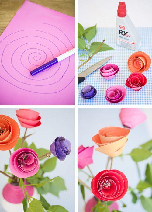 Поэтапная инструкция как сделать из бумаги розу