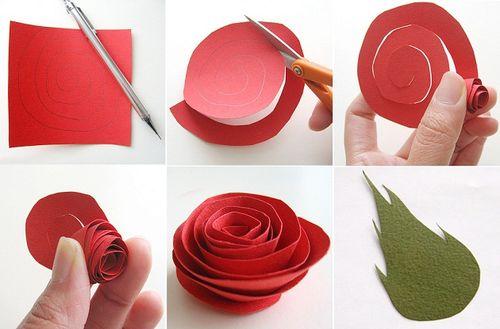 Мастер-класс: как сделать розу из салфетки